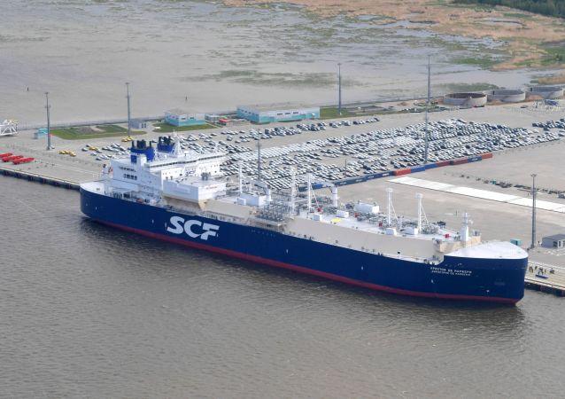 Tanker Christophe de Margerie