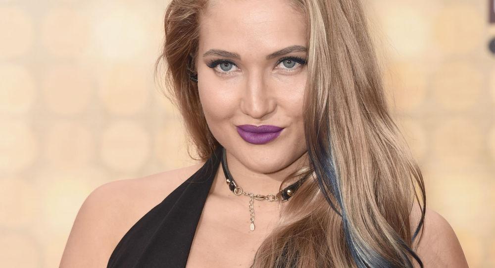 Ruská sportovkyně a modelka Anastasija Jankovova