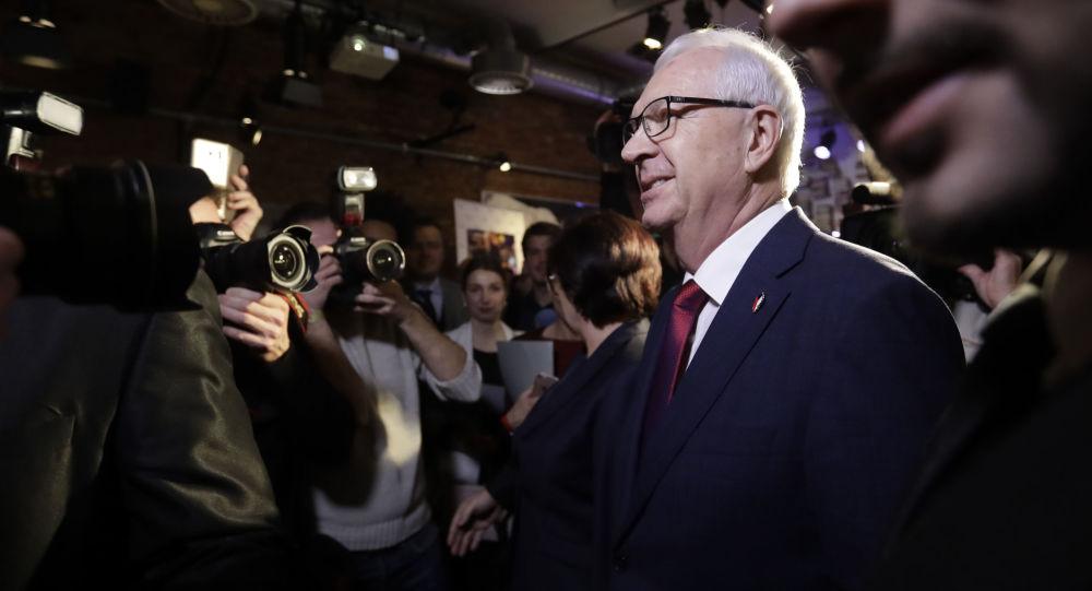 Kandidát na prezidenta ČR Jiří Drahoš
