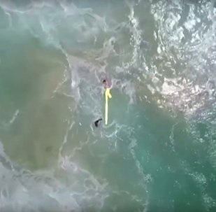 Dron zachránil chlapce