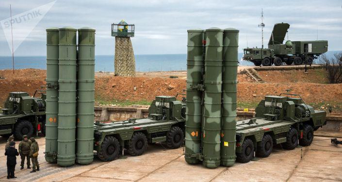 S-400 Triumf v Sevastopolu