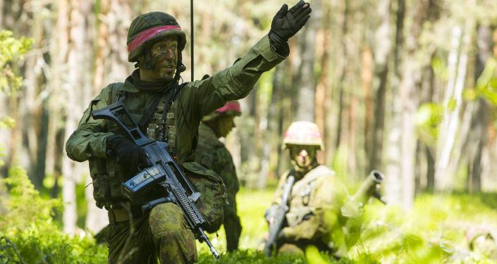 Cvičení Saber Strike v Litvě