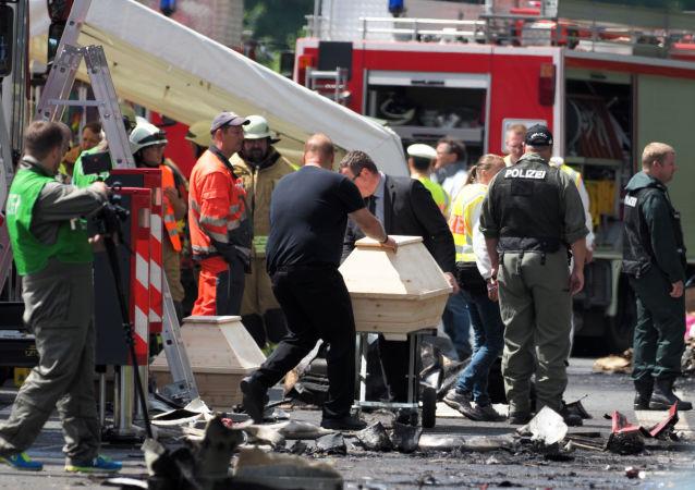 Dopravní nehoda v Bavorsku
