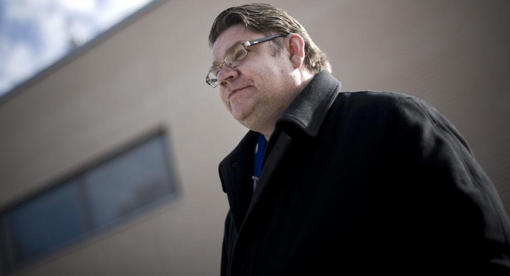 Finský ministr zahraničí Timo Soini