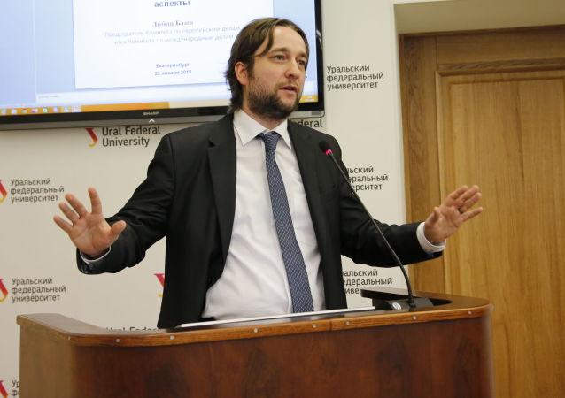 Předseda evropského výboru Ľuboš Blaha