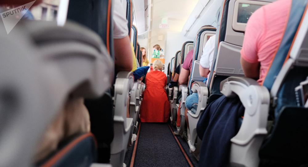 Na palubě letadla
