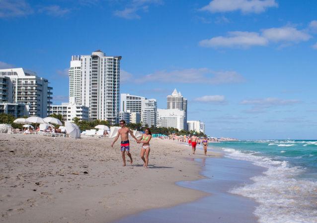 Pláž v Miami