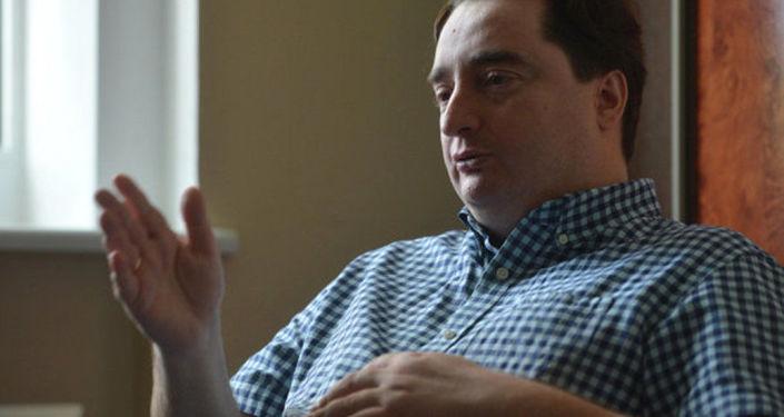 Šéfredaktor ukrajinského internetového magazínu Strana.ua Igor Gužva