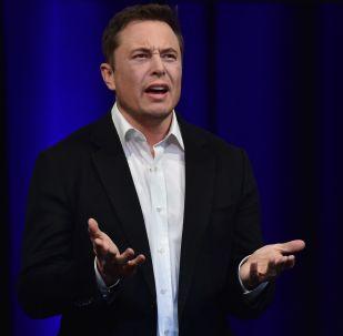 Zakladatel společností Tesla a SpaceX Elon Musk