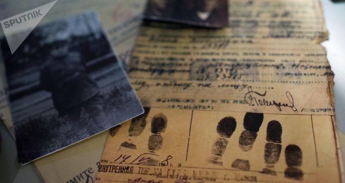 Exponáty v historickém muzeu Gulag