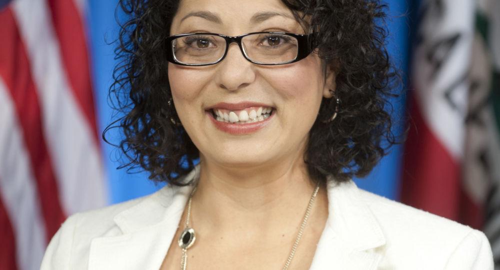 Kalifornská poslankyně Cristina Garciová