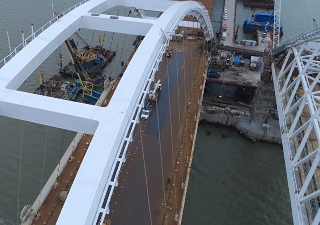 Krymský most v celé své kráse