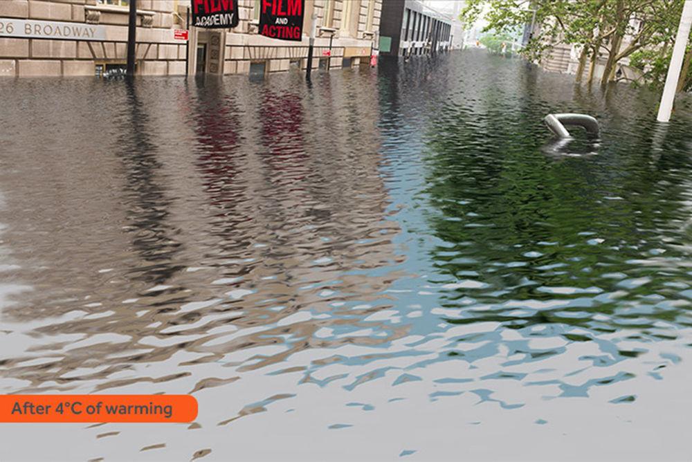 Města, která se noří pod vodu