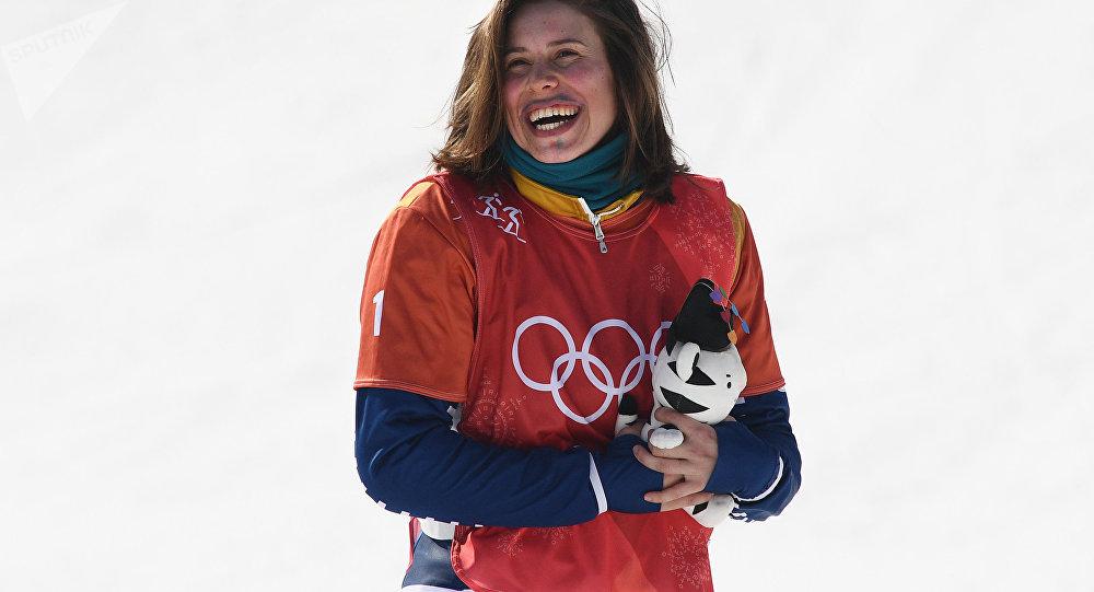 Bronzová Eva Samková po olympijském závodu