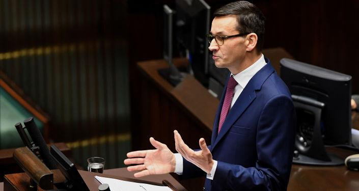 Polský premiér Mateusz Morawecki
