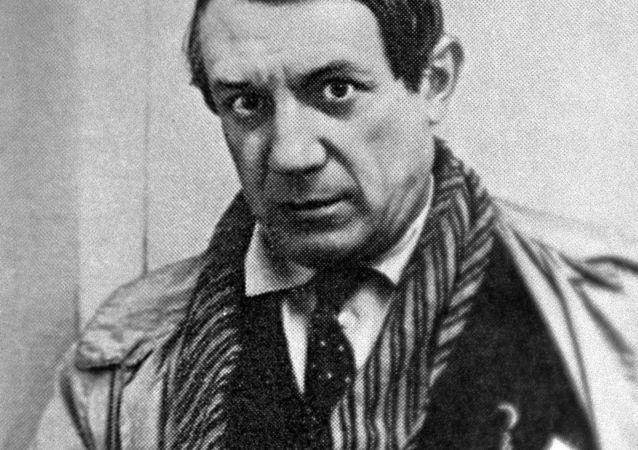 Španělský malíř Pablo Picasso