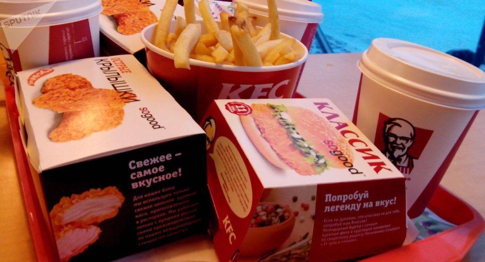 Fastfood KFC. Ilustrační foto