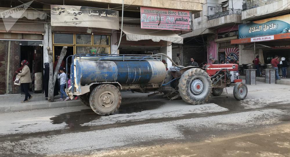 Syrská vojska vstoupila do Afrínu