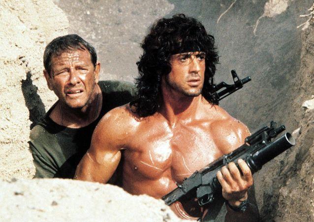Obrázek z filmu Rambo 3