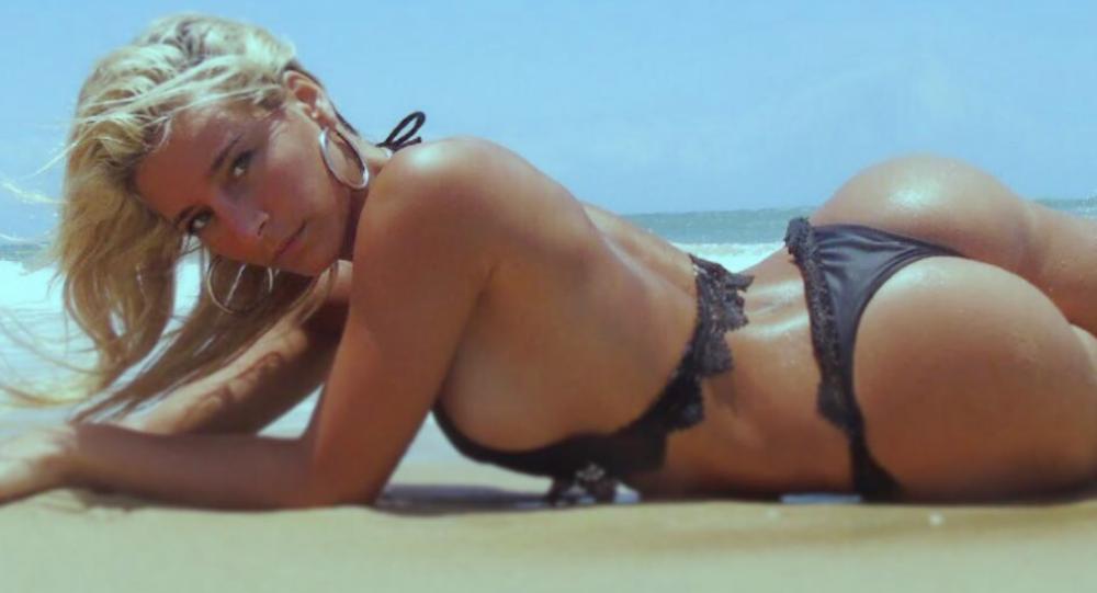 24letá moderátorka a modelka Sol Perez