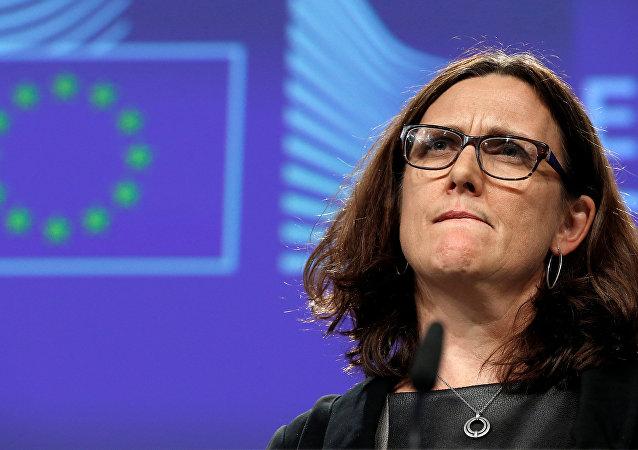Evropská komisařka pro obchod Cecilia Malmströmová