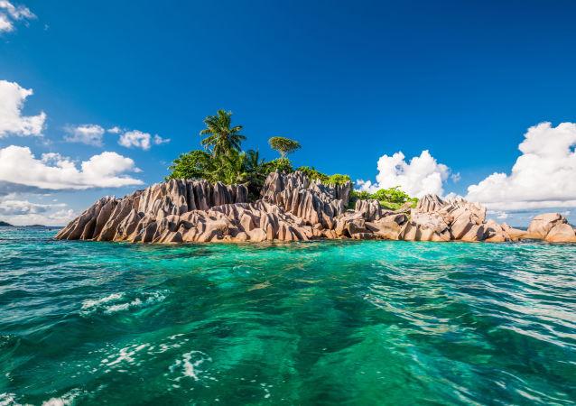 Ostrov sv. Pierra, Seychely. Ilustrační fotografie
