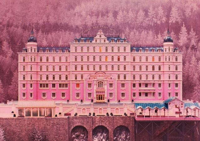 Záběr z filmu Grandhotel Budapešť