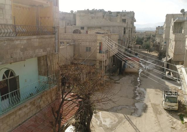 Humanitární koridor mezi Damaškem a Východní Ghútou