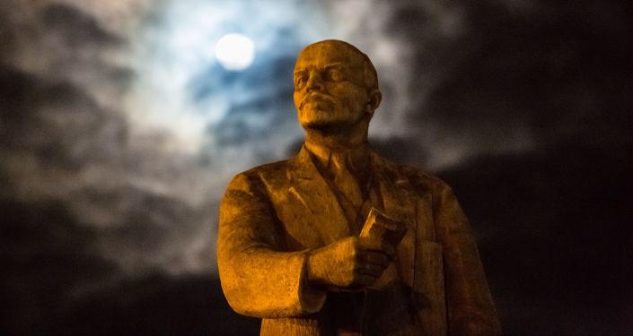 Leninův pomník. Ilustrační foto