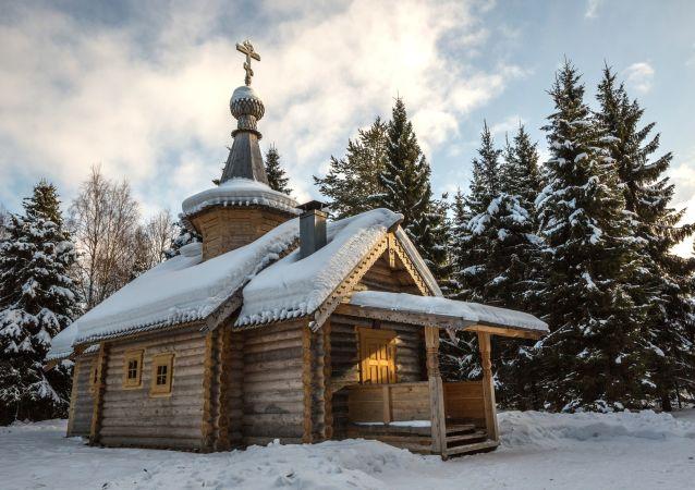 Útočiště pro oči a duši: záběry z karelského kláštera