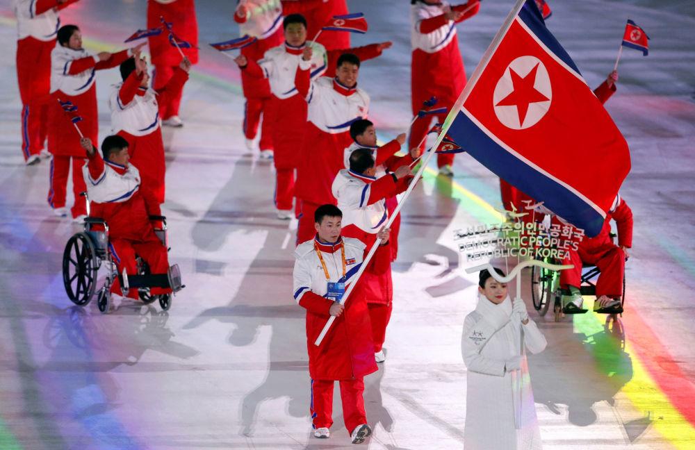 Slavnostní zahájení XII. zimních paralympijských her