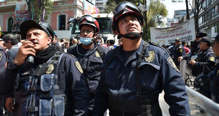 Mexičtí policisté