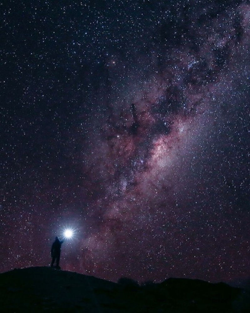 Fotografie hvězdného nebe v Jihoafrické republice