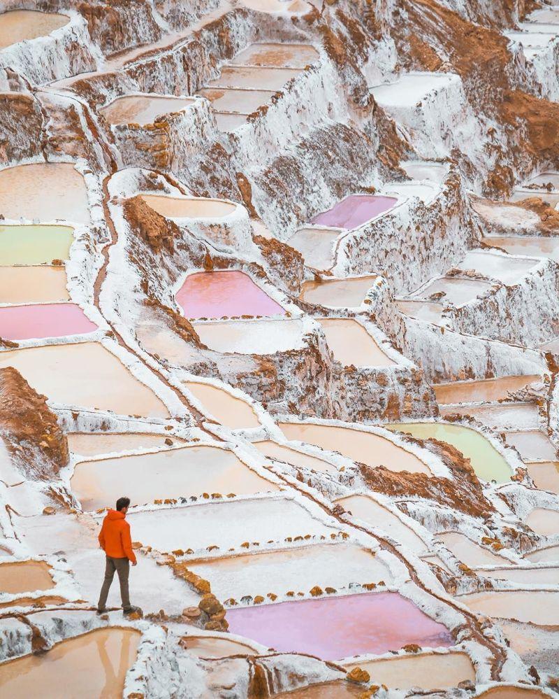 Peruánská krajina na fotografii projektu