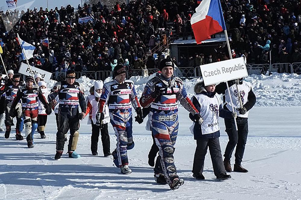 Češká výprava na Mistrovství Evropy na ledové dráze v Rusku