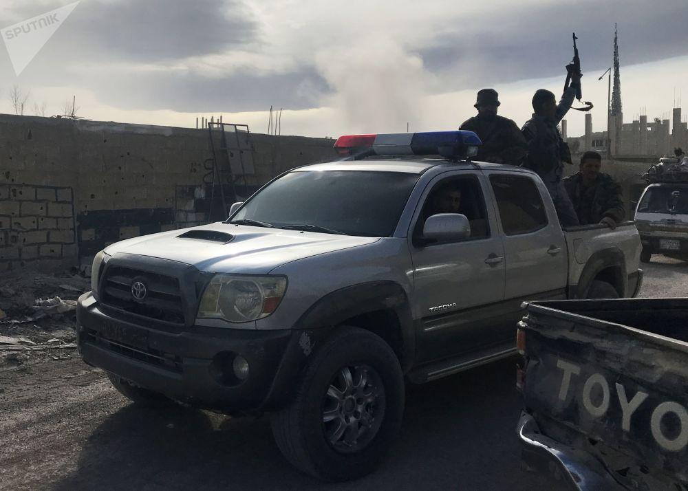 Situace ve východní Ghútě