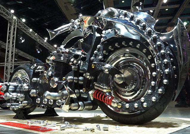 To není motocykl, ale opravdový kus umění!