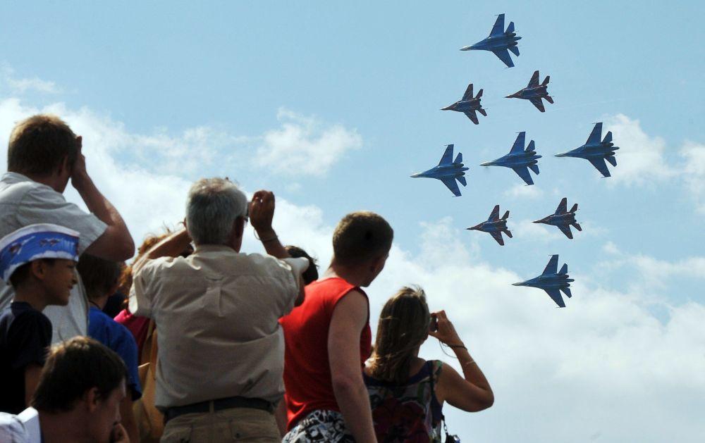 Nejlepší bojová letadla Ruska