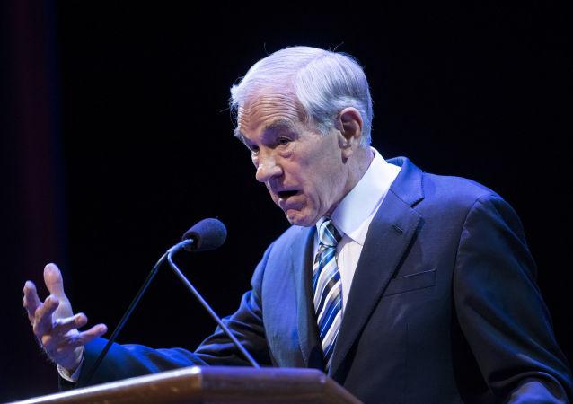 Bývalý člen Sněmovny reprezentantů amerického Kongresu za stát Texas Ron Paul