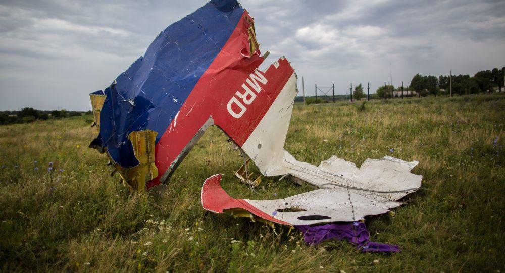 Fragmenty boeingu 777 nedaleko vesnice Šachtjorsk