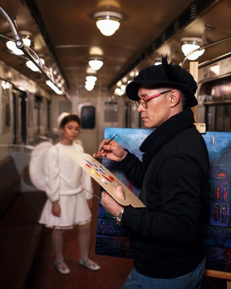 Neuvěřitelná atmosféra petrohradského metra