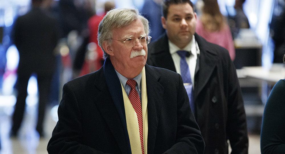 Poradce pro národní bezpečnost John Bolton