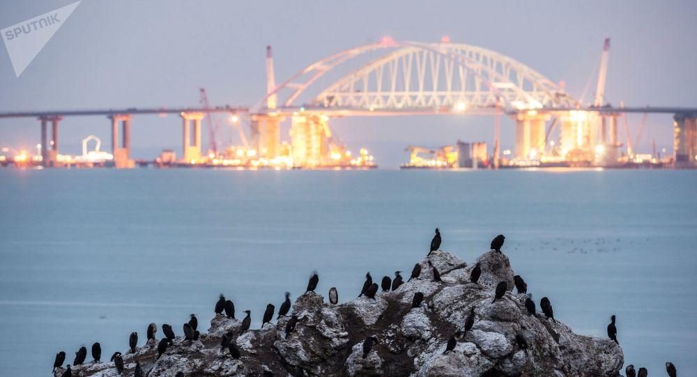 Stavba Krymského mostu