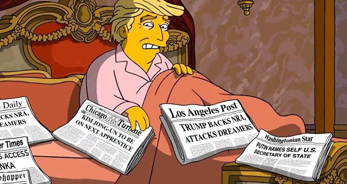 V nové sérii Simpsonů je Putin ministrem zahraničí USA