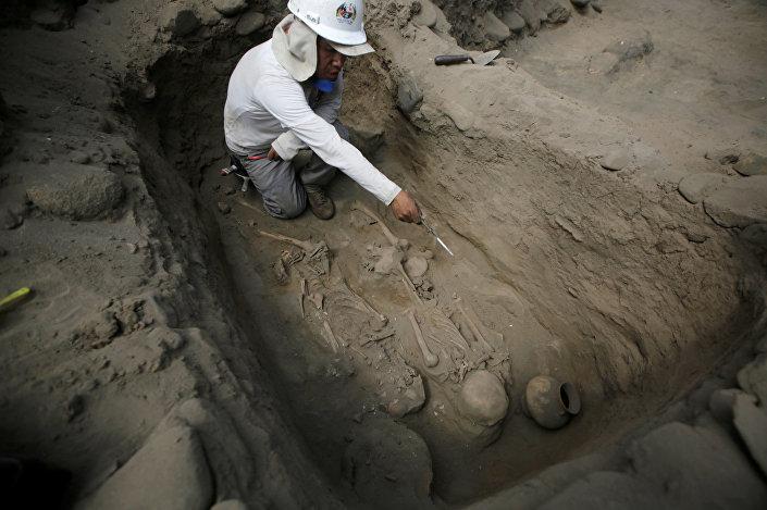 Archeologické vykopávky v Peru
