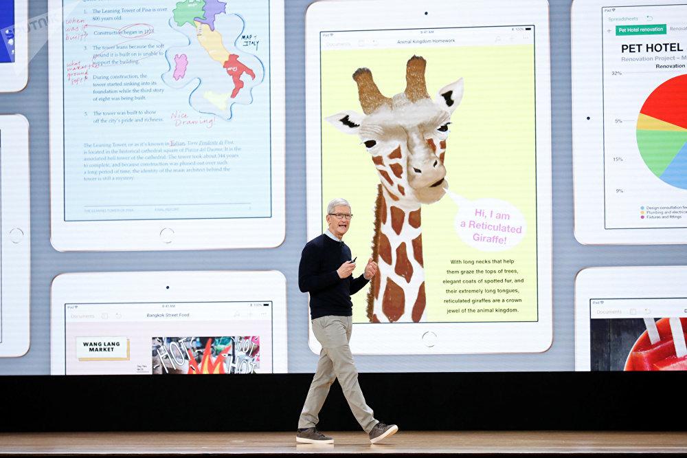 Prezentace nového iPadu