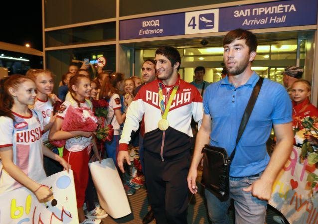 Abdulrašid Sadulajev, ruský zápasník ve volném stylu