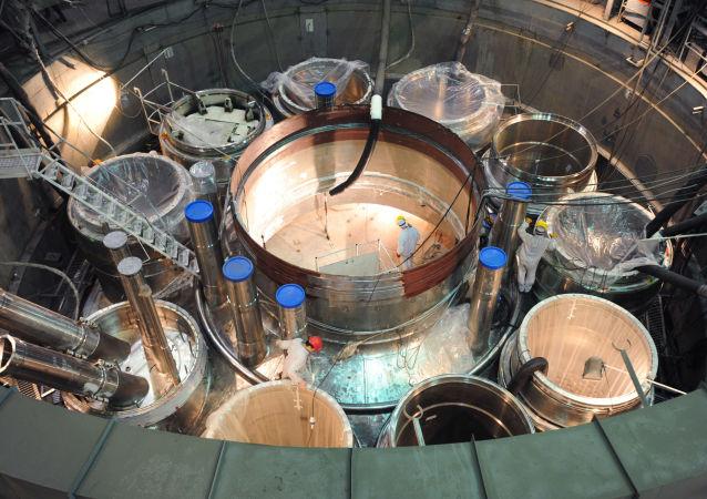 Jaderný reaktor. Ilustrační foto