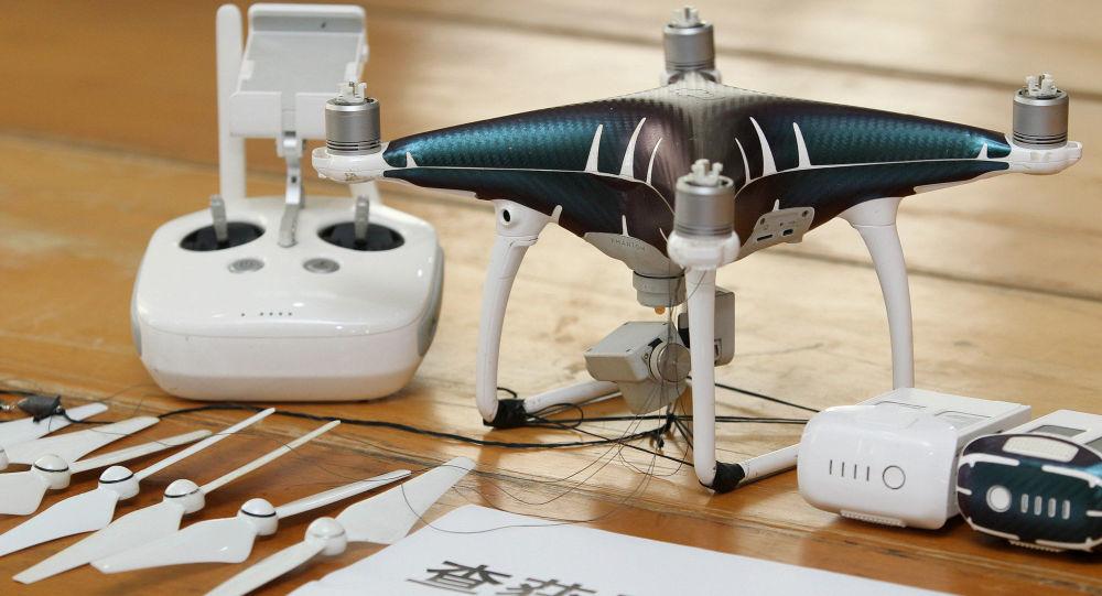 Jeden ze zadržených dronů