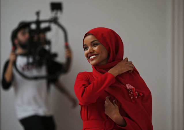 Modelka Halima Aden